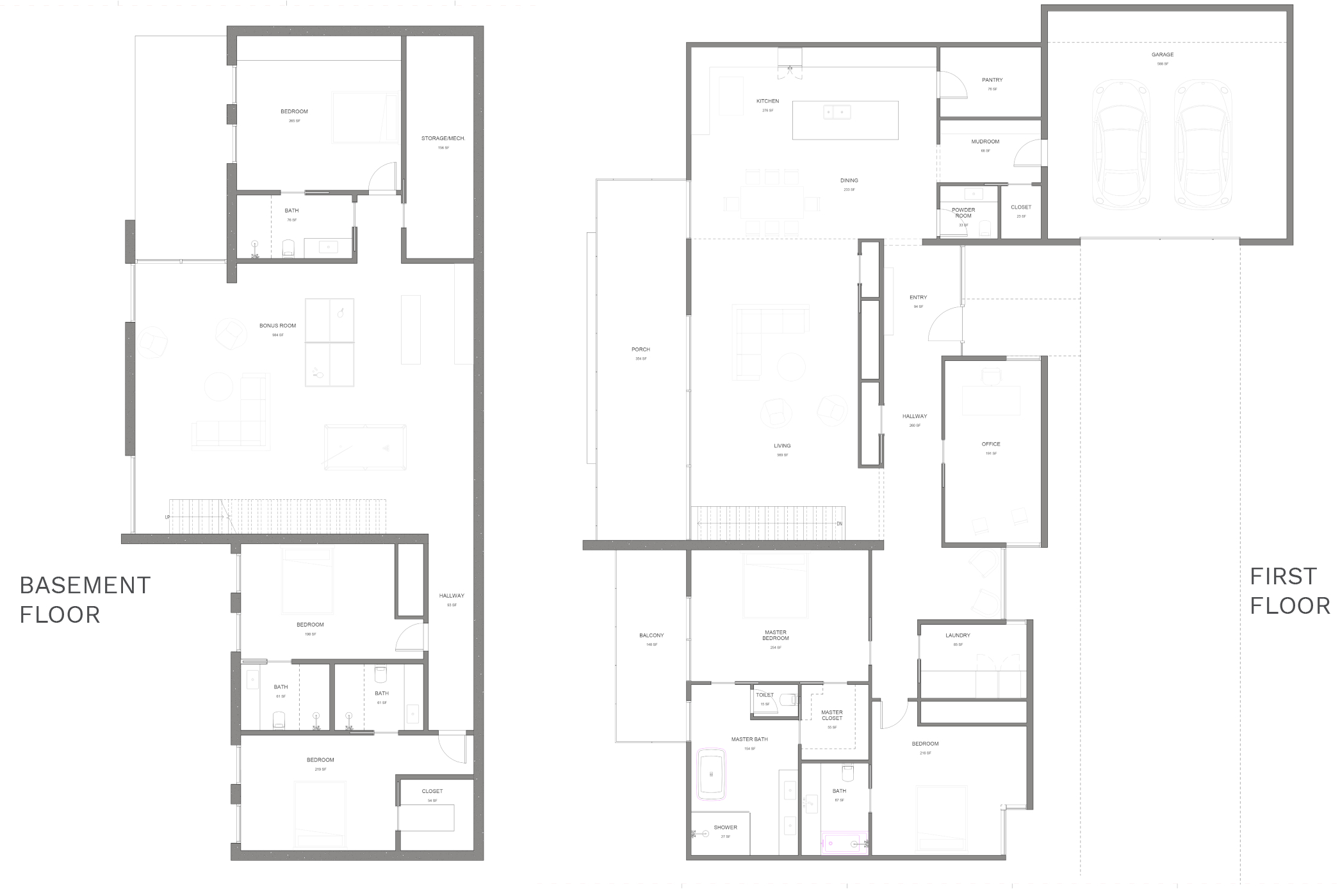 Robin floorplan