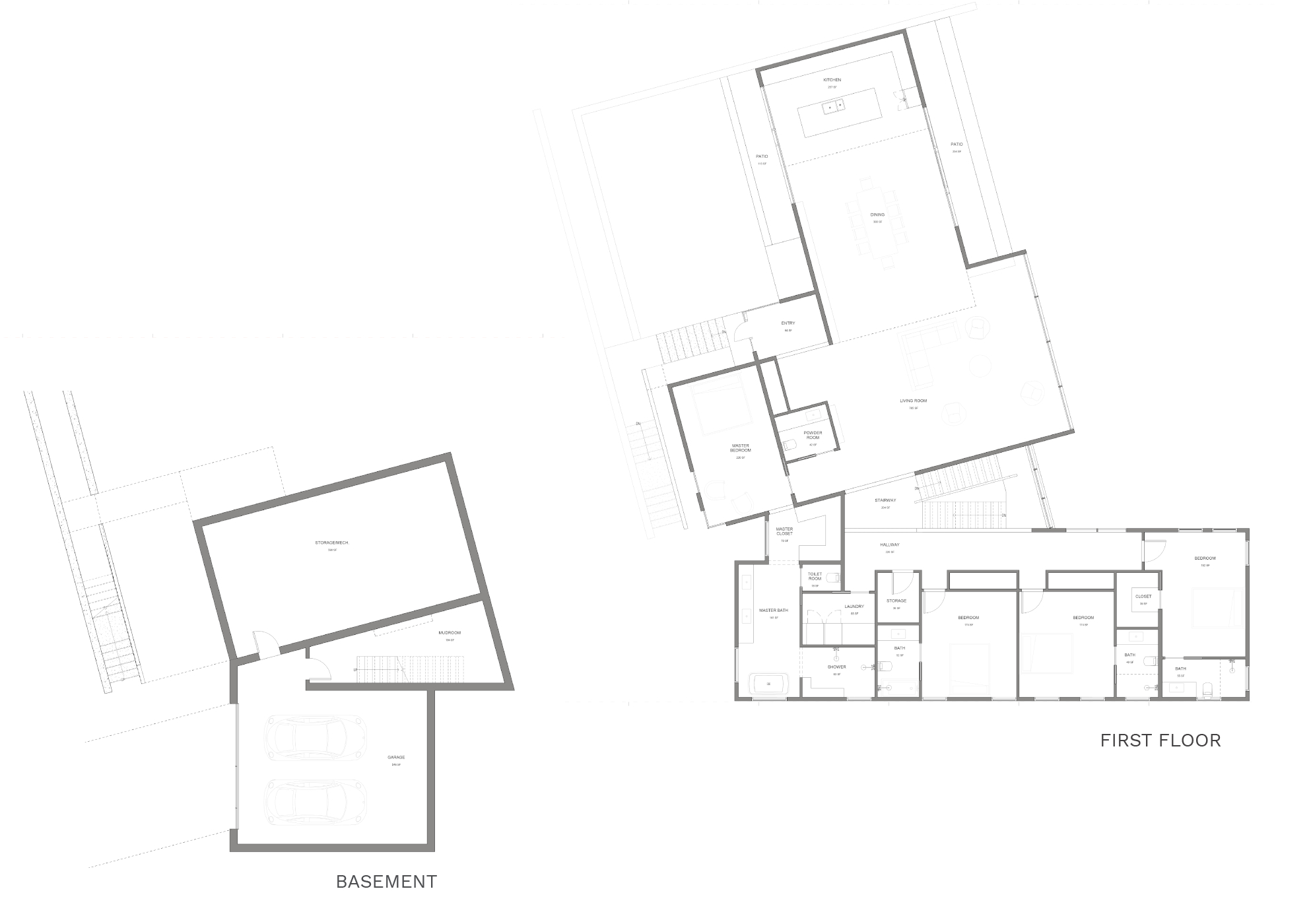 Sparrow floorplan